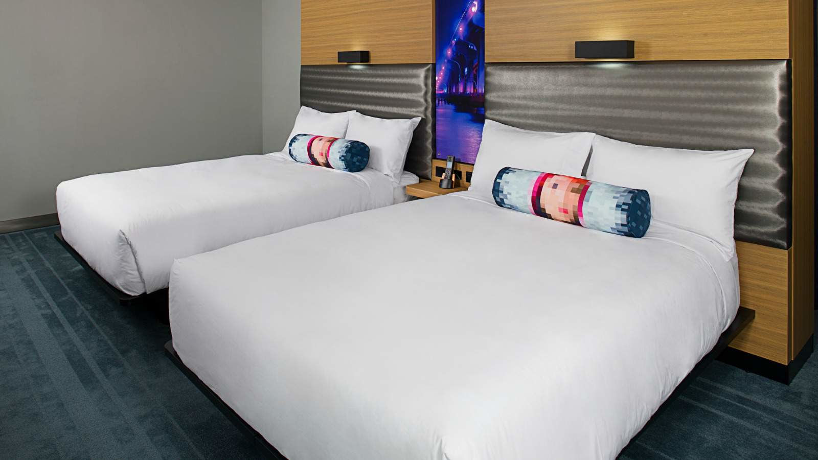 Aloft Suite, 2 Queen Beds